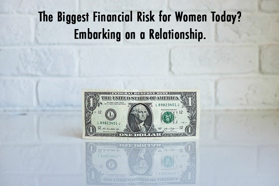 the biggest financial risk for women
