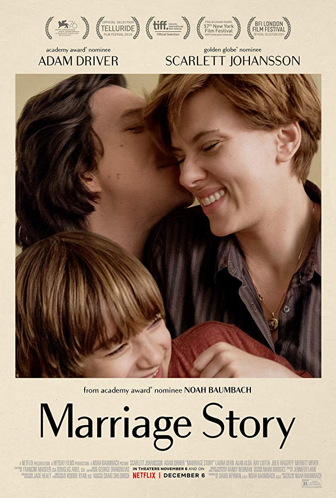 marriage story from netflix - film poster